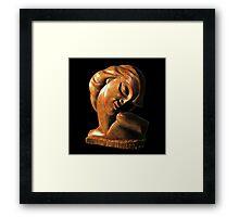 Twilight (Sculpture) Framed Print