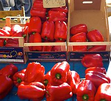 Biggest Peppers by Francis Drake