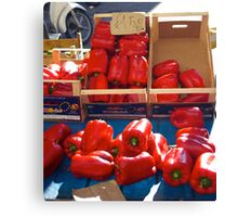 Biggest Peppers Canvas Print