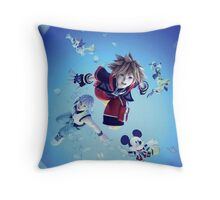 DreamDropDistance Throw Pillow