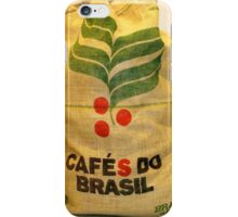Coffee Beans from Brazil iPhone Case/Skin