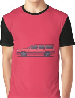 Volvo 850 T-5R Estate (Red) Graphic T-Shirt