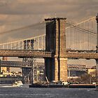 East River Bridges by AJM Photography