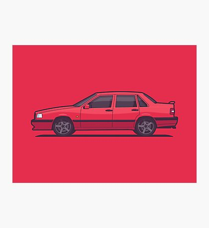 Volvo 850 T-5R Saloon (Red) Photographic Print