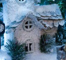 Winter Christmas Village Sticker