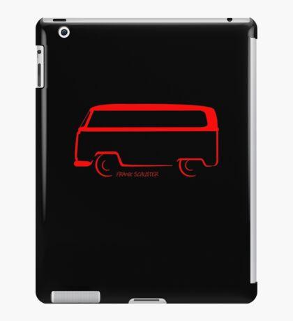 Bay Window Shape Bus VW Van iPad Case/Skin