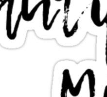 Beautiful Mind 2 Sticker