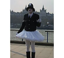 Posh Dave's Latest Police Reforms ! Photographic Print