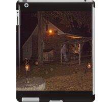 Ghostly Apparition Outside Stone Cottage, Sleepy Hollow NY iPad Case/Skin