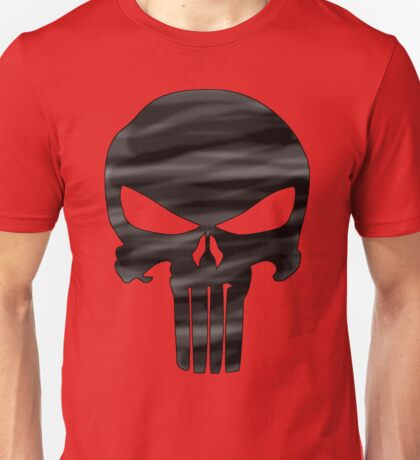 Punisher Black  Unisex T-Shirt