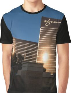 Chocolate Gold Buildings - Wynn and Encore Las Vegas Graphic T-Shirt
