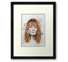 Queen of Peace Framed Print