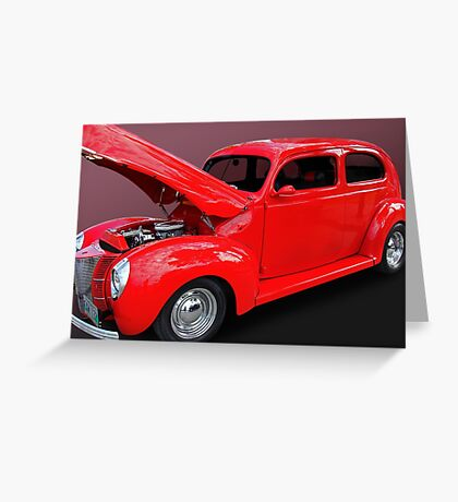 1940 Ford Greeting Card