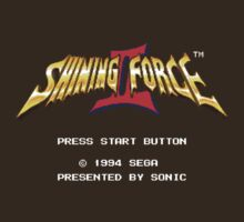 Shining Force 2 (Genesis) Title Screen by AvalancheJared