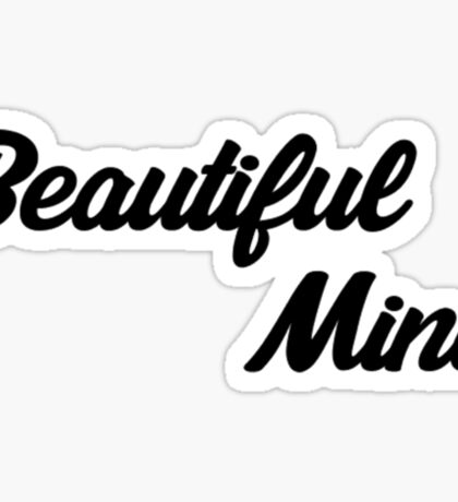Beautiful Mind 5 Sticker