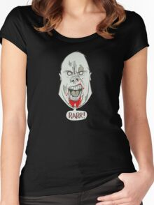 Zombie Gorilla Women's Fitted Scoop T-Shirt