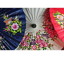 Paper Umbrellas of Thailand Photographic Print