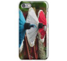 Umbrella Garden iPhone Case/Skin