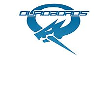 Ouroboros Logo Photographic Print