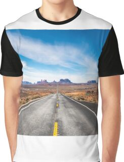 Monument Valley National Park in Arizona, USA Graphic T-Shirt