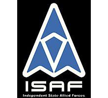 ISAF Logo Photographic Print