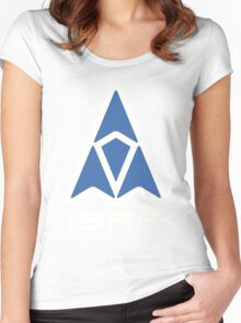 ISAF Logo Women's Fitted Scoop T-Shirt