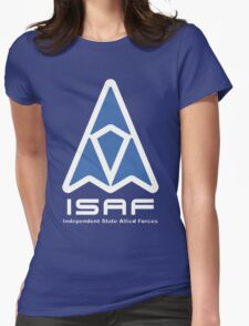 ISAF Logo Womens Fitted T-Shirt