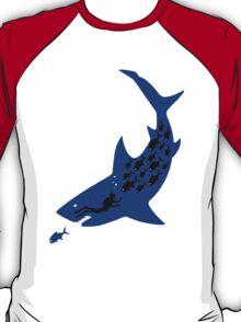 Shark In The Dark T-Shirt