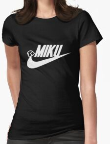 MIKU Womens Fitted T-Shirt
