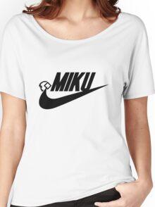 MIKU (blk) Women's Relaxed Fit T-Shirt