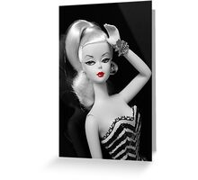 vintage silkstone Barbie Greeting Card