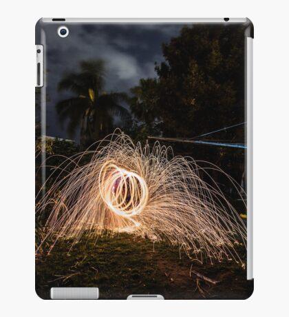 Fire wire iPad Case/Skin