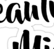 Beautiful Mind 6 Sticker