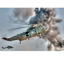 Royal Navy Sea King Helicopter Photographic Print