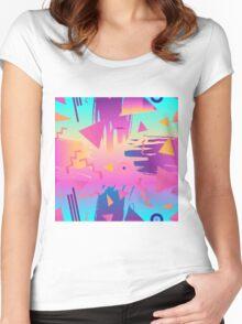 Memphis  Women's Fitted Scoop T-Shirt