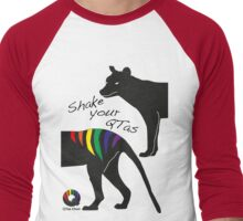 Shake Your QTas Men's Baseball ¾ T-Shirt