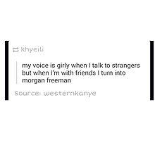 Voice Change by MikaylaSlawosky