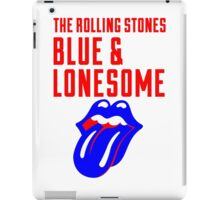 BLUE LONESOME HITAM 6 iPad Case/Skin