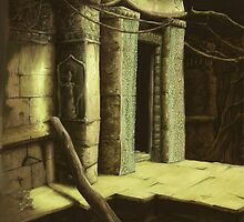 Ancient ruins by Ivan Bruffa
