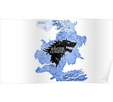 game of thrones-winter is coming Poster