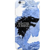 game of thrones-winter is coming iPhone Case/Skin