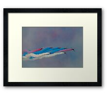 The Red Arrows Painting the Sky Framed Print