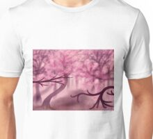 Blooming Sakura Trees 3 Unisex T-Shirt