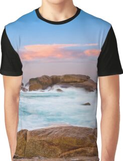 Big Rocks Clothing, Slopey Rocks, Margaret River Graphic T-Shirt