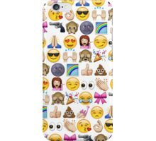 EMOJIS ARE A GALS BEST FRIEND iPhone Case/Skin