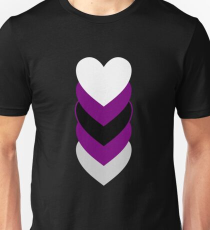 Demisexuality in Shapes Unisex T-Shirt