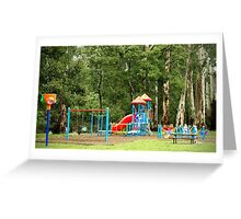 Forest playground Greeting Card