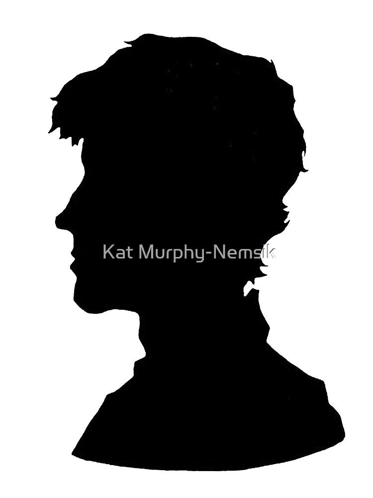 Sherlock Silhouette by Kat Murphy-Nemsik