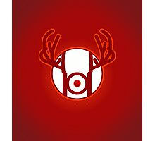 RED NOSED LANTERN Photographic Print