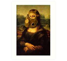 oxygen mask mona Art Print